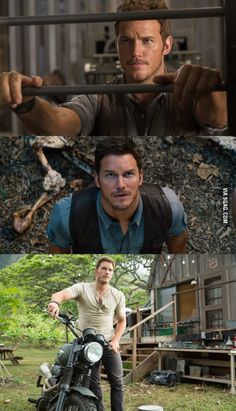 Getting real excited for the new Jurassic World movie! Or maybe just excited cause Chris Pratt.