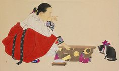 한복 Hanbok : Korean traditional clothes[dress]  | Korean Art