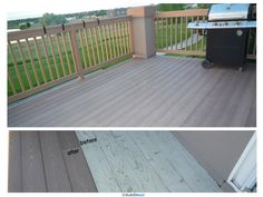 A recent customer giving their deck a beautiful upgrade with Yakima's Comfort Plus Deck Veneers.