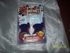 Set of 2 Spiderman Walkie Talkies - Marvel Ultimate Spiderman Web Warriors W Bat #Marvel
