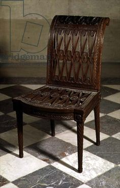Jacob, Georges (1739-1814)Etruscan style chair (wood) Image ID: PWI 83527