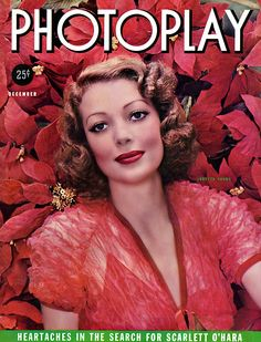 Loretta Young - Photoplay, Dec, 1937.