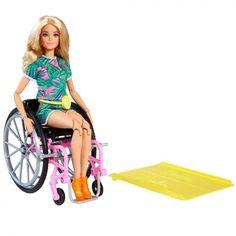 Made To Move Barbie, Barbie And Ken, Girl Barbie, Barbie Toys, Barbie Clothes, Barbie Van, Barbie Movies, Barbie Wheelchair, Manual Wheelchair