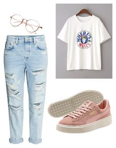 """""""Untitled #32"""" by katelymnsimon on Polyvore featuring WithChic and H&M"""