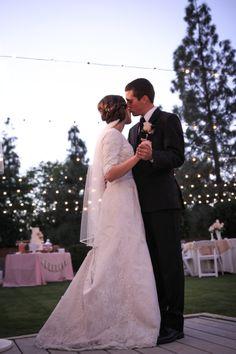 Dancing at the reception.  #LDSWeddings #MormonWeddings #LDSWeddingPhotos