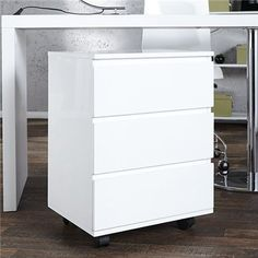 Szafka kontener Deal white Black Friday, Drawer Filing Cabinet, Armoire, Laque, Elegante Designs, Decoration, Storage Spaces, Home Office, Lounges