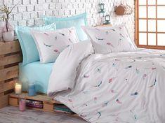 Exclusive Lenjerie de Pat Bumbac Satin Double - Oriel Duvet, Bedding, Comforters, Blanket, Furniture, Home Decor, Shopping, Beautiful, Down Comforter