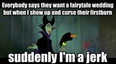 Misunderstood Disney villain…Maleficent my favorite!