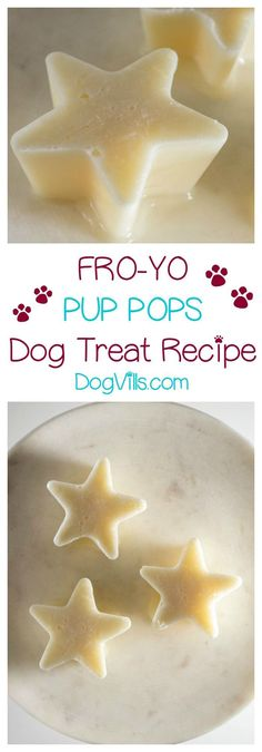 Cool down your hot dog this summer with our easy 3-ingredient frozen yogurt homemade dog treat recipe! Check it out!