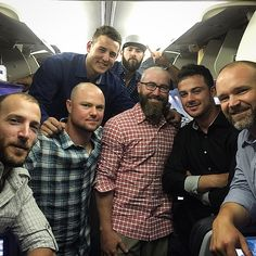 "baseballandplaid: Anthony Rizzo on Instagram: ""#showflight with the boys"""