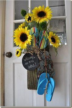 summer door decorations