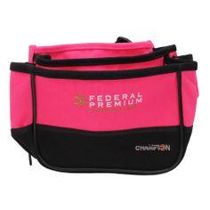 Champion Trap Targets Double Shotgun Shell Pouch Bag Case Nylon Canvas Pink  NEW