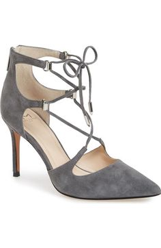 Marc Fisher LTD 'Toni' Lace-Up Pointy Toe Pump (Women) available at #Nordstrom