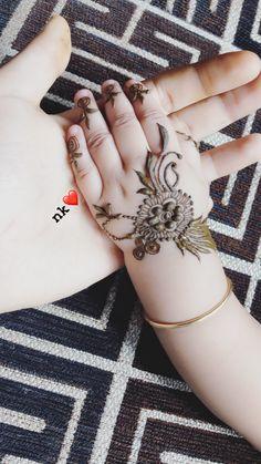 Baby Mehndi Design, Mehndi Designs For Kids, Floral Henna Designs, Finger Henna Designs, Mehndi Designs For Beginners, Modern Mehndi Designs, Bridal Henna Designs, Mehndi Designs For Fingers, Beautiful Henna Designs