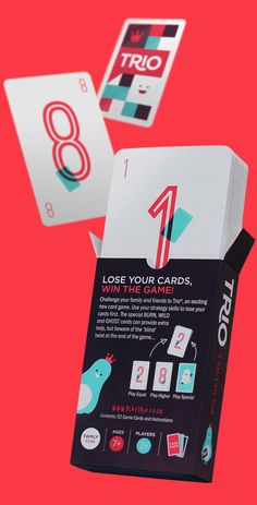 Trio Card Game by Hype & Slippers, via Behance
