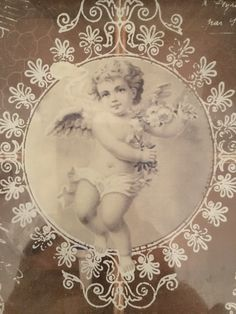 #decoration #vintage #style #angel by Adriana