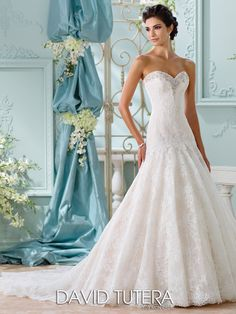 David Tutera (Mon Cheri) Brautkleider 2016 | miss solution - Chasca by DAVID TUTERA