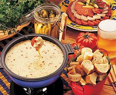 Tre Stelle® Recipes - Four Cheese Jardiniere Fondue