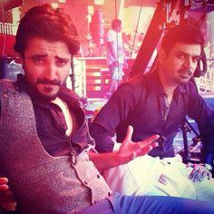 "Hamza Ali Abbasi & Vasay Choudhary in Bangkok for Humayun Saeed's film ""Jawani Phir Nahi aani"" Shoot"