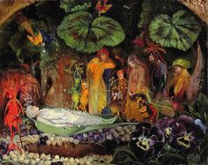 Death of the Fairy Queen, John Anster Fitzgerad