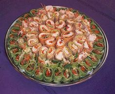 Food for Party Platter Idea | GOURMET WRAPS OR SANDWICHES CUT