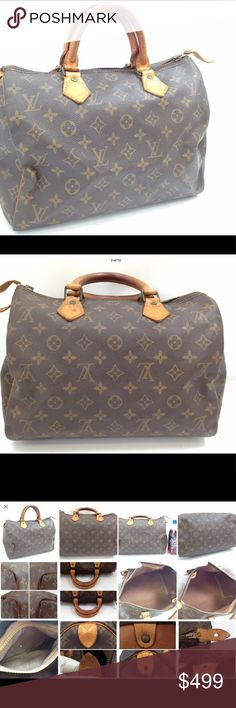 RESERVED for VEROBBS2 !LOUIS VUITTON SPEEDY 30 bag Please check pics out and 4 th pic for description please.  I will answer any and all questions for you.  I will ship same day of purchase if purchase made before 3 pm Monday-Friday, unless i am not able for some good reason lol.  This bag is used and has flaws Louis Vuitton Bags Satchels