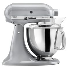 KitchenAid 5 Quart Capacity Metallic Chrome 325-Watt Tilt-Head Stand Mixer (Model: KSM150PSMC) #mixupmykitchen #pinterestparty @h.h. gregg
