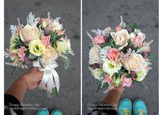 Baiciurina Olga's Design Room: Нежный,розово-персиковый букет невесты-Tender pink&peach wedding bouquet