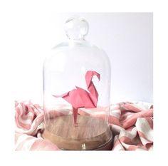 Origâmis. Flamingos