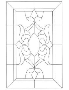 Victorian Stained Glass pattern by rebecca.dennison.12