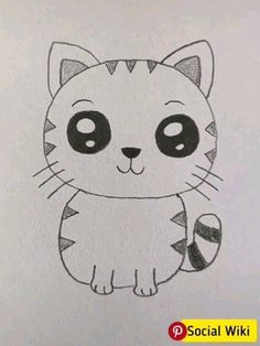 Cute Drawing Ideas for Kids!, drawings planets Cute Drawing Ideas for Kids! Cute Cartoon Drawings, Pencil Art Drawings, Doodle Drawings, Art Drawings Sketches, Animal Drawings, Doodle Art, Drawing Skills, Drawing Lessons, Art Lessons