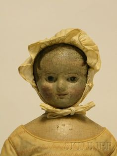 Oil-painted Cloth Izannah Walker Girl Doll | Sale Number 2530M, Lot Number 1063 | Skinner Auctioneers