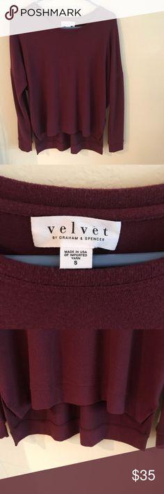 Velvet by Graham & Spencer Pullover Shirt - Small Velvet by Graham & Spencer Pullover Shirt - Small Great condition - only worn 2-3 tones Velvet by Graham & Spencer Tops