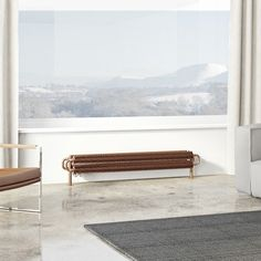 Terma Ribbon copper horizontal radiator 190 x 1540