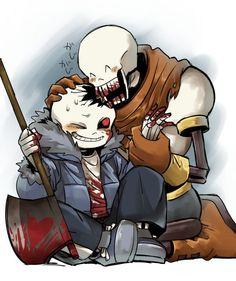 Horrortale - Horror Sans e Papyrus Undertale Love, Undertale Ships, Undertale Fanart, Undertale Comic, Frisk, Fan Art, Chara, Horror Sans, Sans Cute