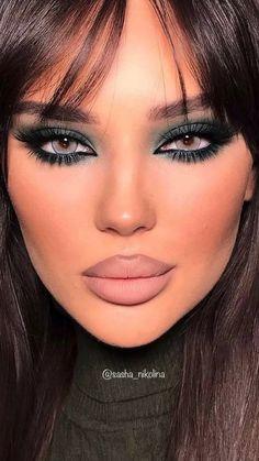 Sultry Makeup, Glam Makeup Look, Glamour Makeup, Makeup Eye Looks, Creative Makeup Looks, Flawless Makeup, Gorgeous Makeup, Skin Makeup, Beauty Makeup