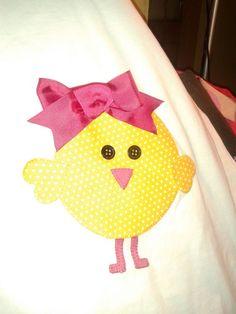 Camiseta pollito niña