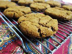 Vegan Molasses Spice Cookies