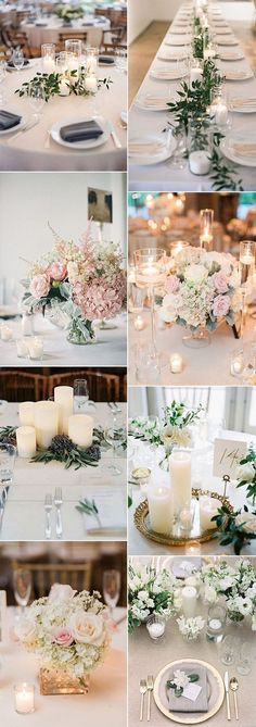trending elegant wedding centerpiece ideas for 2018 trends #elegantwedding #weddingdecor #weddingcenterpieces #weddingreception