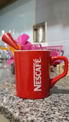 Vicio Nescafe, Mugs, Tableware, Kitchen, Little Cottages, Dinnerware, Cuisine, Cups, Dishes