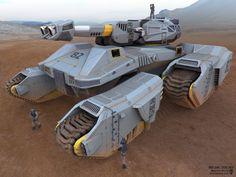 Drop Tank: Front View by Matthew Harris ~ Concept Artist