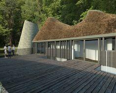 Flight Farm. Balcony image. Contemporary Architecture. Hawkes. NPPF 55.