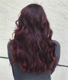 Reddish Purple Hair, Dark Red Hair, Hair Color Purple, Brown Hair Colors, Violet Hair, Red Purple, Dark Burgundy Hair Color, Burgundy Weave, Red Ombre