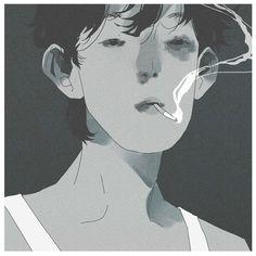 切尸红人魔 (@XseventhousandX) / Twitter Pretty Art, Cute Art, Art Addiction, Anime Art Girl, Portrait Art, Traditional Art, Illustrations Posters, Art Inspo, Art Reference