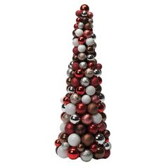 I pinned this Shimmer Holiday Tree in Red from the Luxe & Lavish event at Joss and Main!