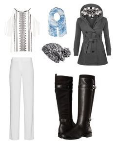 """Winters"" by lorelai-grant on Polyvore featuring DKNY, WearAll, New Look, Zella, Aerosoles and Lauren Ralph Lauren"