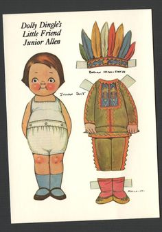 Dolly Dingles Paper Dolls