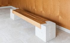 Banco Macla. Manuel Gallego Jorreto. 2008. Outdoor Furniture, Outdoor Decor, Home Decor, Wood, Benches, Architects, Interior Design, Home Interior Design, Yard Furniture