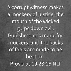 Proverbs 19:28-29