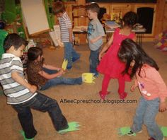 A, Bee, C, Preschool: Dinosaurs